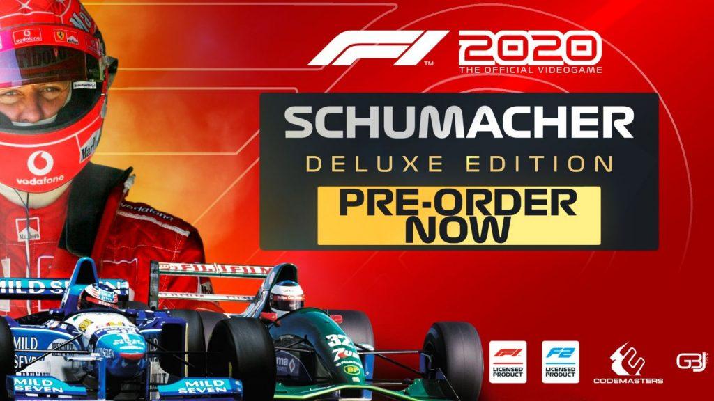 F1 2020 Deluxe Schumacher Edition redeem codes generator