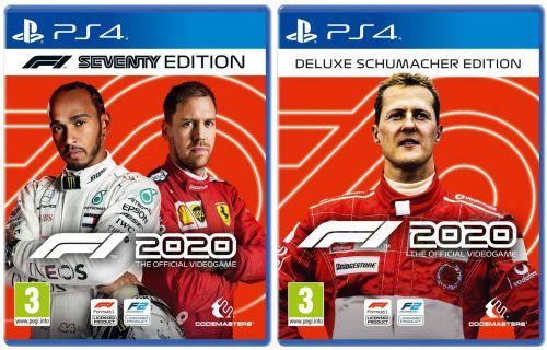 F1 2020 Deluxe Schumacher Edition redeem code