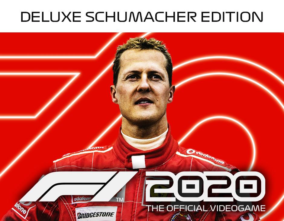 F1 2020 Deluxe Schumacher Edition redeem codes