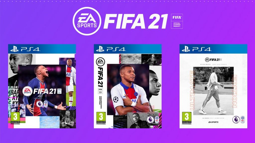 FIFA 21 redeem codes
